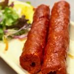 カナピナ - 鶏のひき肉とマトンのひき肉 のシックケバブ ビールにピッタリ!!