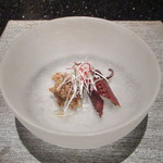 コッコラーレ 鉄板焼き - 煮蛸と牛肉時雨煮