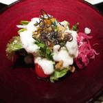 コッコラーレ 鉄板焼き - サラダ