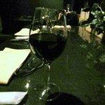 イルコルティーレ - 最後は赤ワインをいただいてこの日はお開きです。