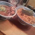 道玄坂 マンモス - つけ麺大盛(胚芽麺)