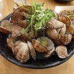 大阪屋台居酒屋 満マル - 料理写真:あさりの酒蒸し