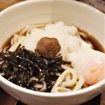 咲花善伝 - 料理写真:食べたことのないような汁の味!