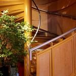 カユ デ ロワ - 2階へ上がる階段