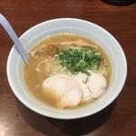 麺屋 とり壱 - 和風鰹鶏白湯らーめん702円税込