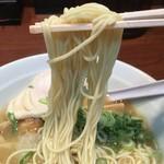 麺屋 とり壱 - 細ストレート麺