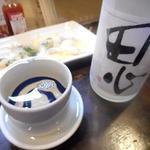 イサバのかっちゃの店 肴町のらぷらざ亭 - 陸奥 田心 純米酒1050円