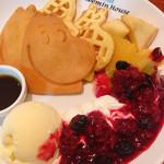 Muminhausukafe - ムーミンパンケーキ  850円+税