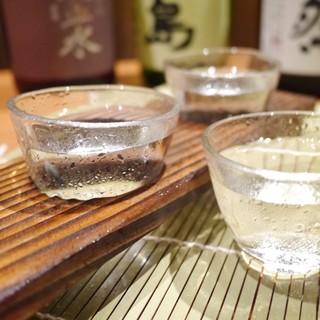 獺祭・日高見・八海山等!選りすぐった地酒をご用意!