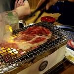 日本焼肉党 - リブロースの焼きすき