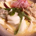 71854629 - 鶏ガラスープの絶品鍋