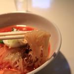 食道園 - コシのある麺です