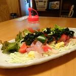 や台ずし - 海鮮サラダ