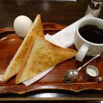 朝日珈琲サロン - おてがるセット 530円
