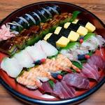 仕出しと味の贈答品 山吹 - 2017.8.14 寿司