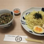 Asakusa Ramen Yoroiya - ざるらーめん玉子付 850円♪