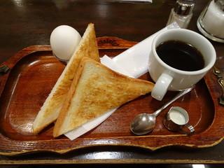 朝日珈琲サロン 胡町店 - おてがるセット 530円