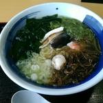 レストラン汐菜 - 磯ラーメン、美味しかったですよ。