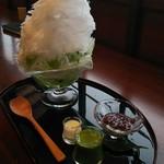 甘味茶房 見世蔵 久森 - 抹茶あずき