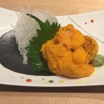 71856910 - 利尻島バフン雲丹/綺麗なオレンジ色してます〜♪