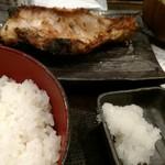 しんぱち食堂 - アコウダイ粕漬定食。