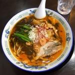 ラーメン中々 - 料理写真:赤黒みそラーメン 750円