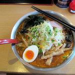 らーめんの店 ヨーコソ - ピリ辛醤油タンメン(750円)