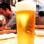 黒十バール - ビール!( ^o^)ノ