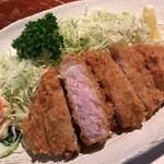とんかつ 大倉 - 大倉(とんかつ定食)