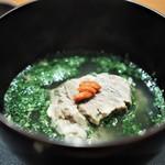 傳 - 牛頬肉の煮物椀