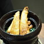 傳 - 穴子の炊き込みご飯