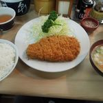 井泉 - 「特ロースかつ」と「ご飯セット」