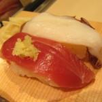 立喰い寿司 魚がし日本一 - 料理写真:魚がし握り 980円→500円