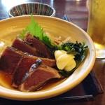 司 - 鰹のタタキ定食