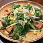 サンボンギ ダイナー - セットのサラダ