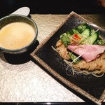 鶏Soba 座銀 - 雲丹つけ麺