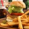 サンボンギ ダイナー - 料理写真:チーズバーガーセット