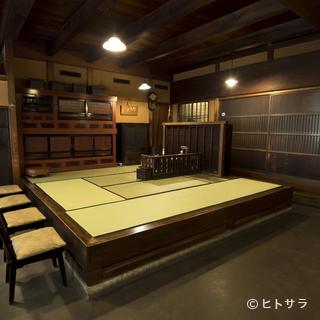 江戸時代の風情が薫る老舗料亭で、季節の会席料理を愛でる