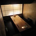 湘南の魚とワインの店 ヒラツカ - 一番奥の個室。プライベートスペースといった感じ。