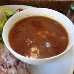 アジャリカフェ - 料理写真:アジャリカレー