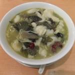 福満園 - 四川酸菜魚麺