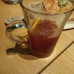 ファクトリーカフェ - 自家製赤サングリア