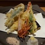 魚河岸 次郎松 - 車海老と旬菜の天麩羅