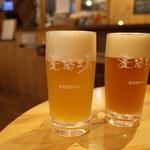 荻窪ビール工房 - ウィートIPA とブロンド