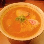 麺儀 赤兎馬 - 中華そば+半熟味付玉子