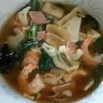 中国料理 江陽 - 五目ラーメン¥750