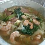 中国料理 江陽 - 海老そば¥800