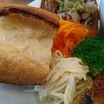 TROMPETTE - フランスパンとキャロットラペと牛蒡ラペ(17-08)