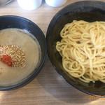 鳥白湯ラーメン はらや - つけ麺(お昼限定、らしい)