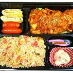 中華料理 普門 - キムチ炒め弁当